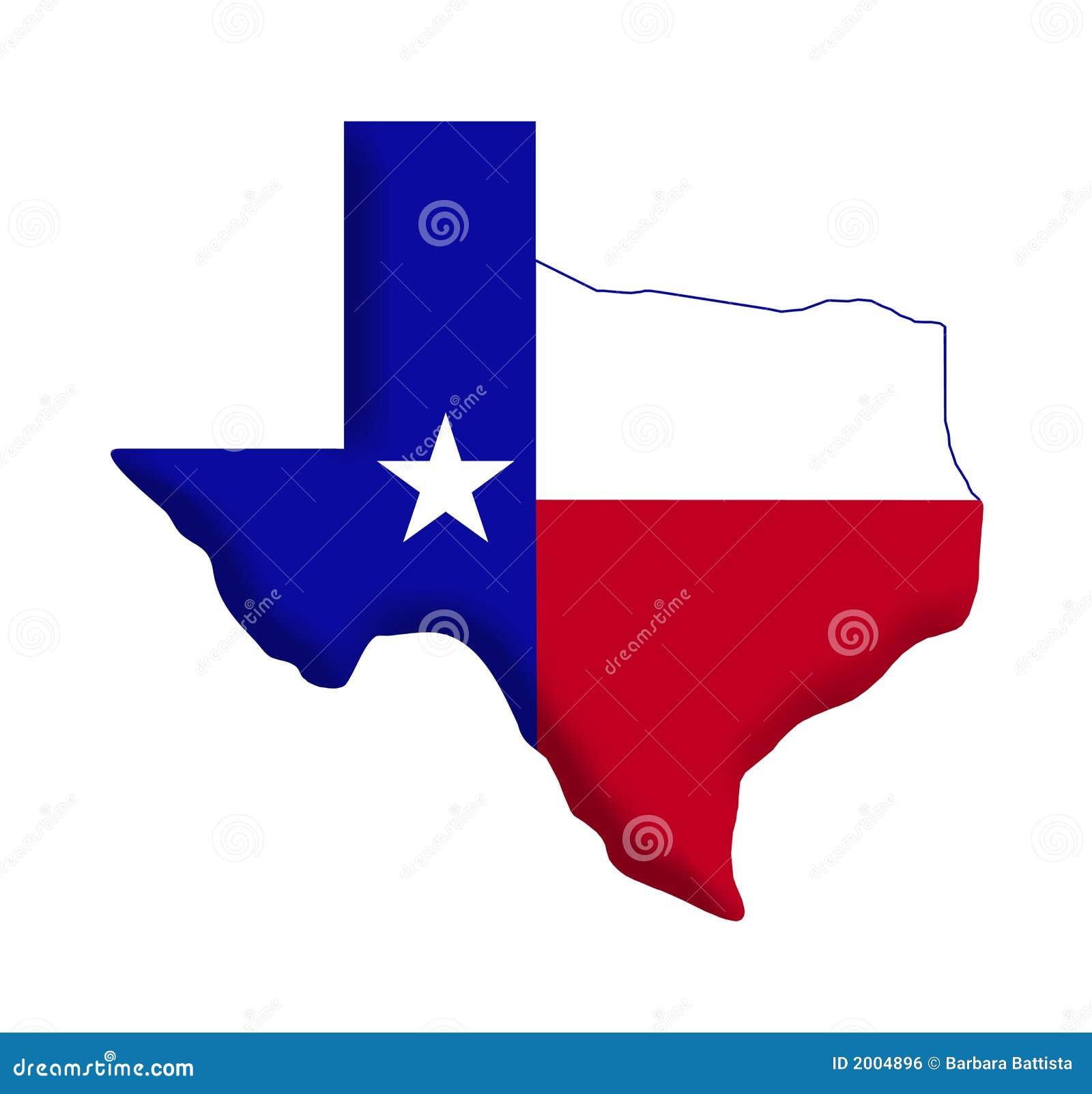 Texas-Markierungsfahne