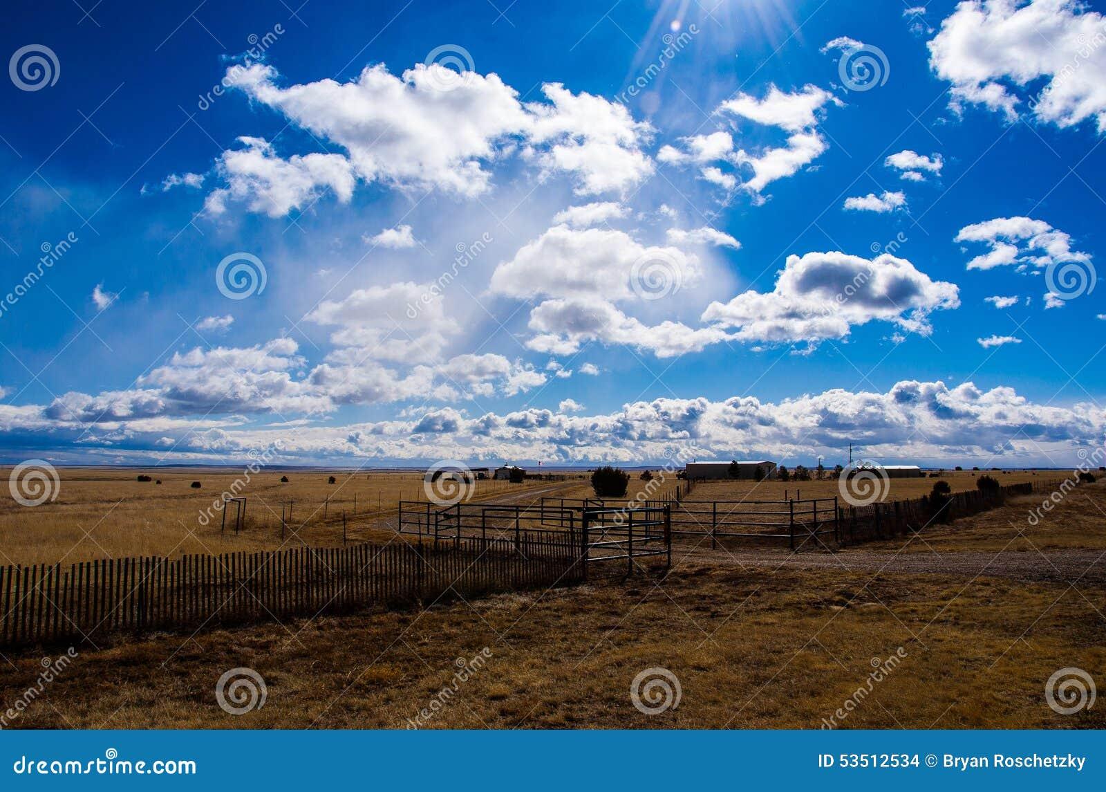 Texas Ranch Amarillo High Lands d état de Lone Star