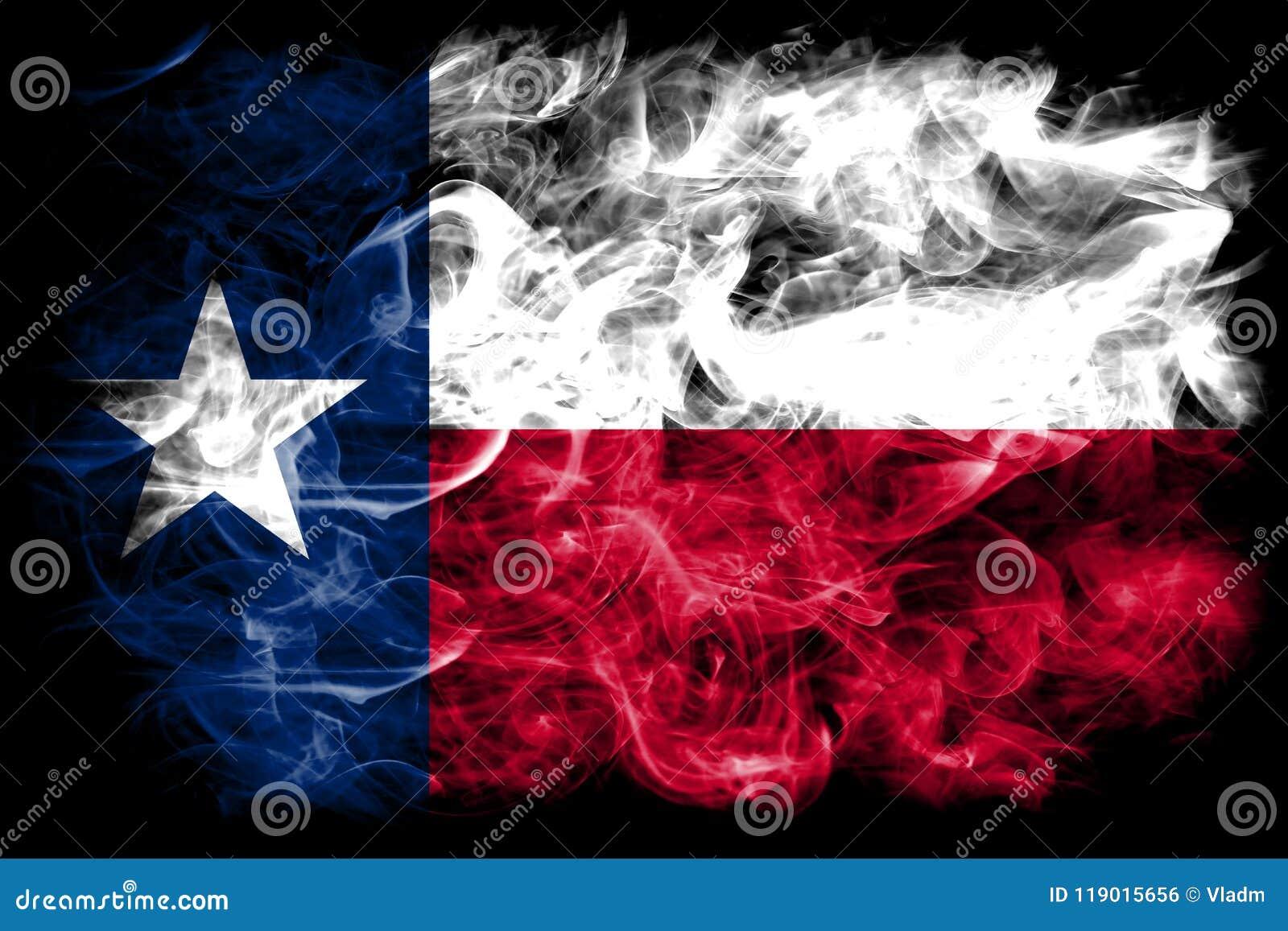 Texas state smoke flag, United States Of America