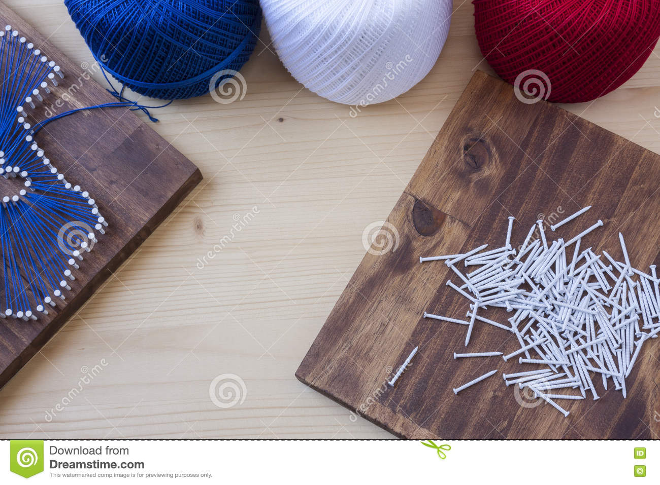 Texas State String Art Stock Image Image Of Nails Yarn 75215001