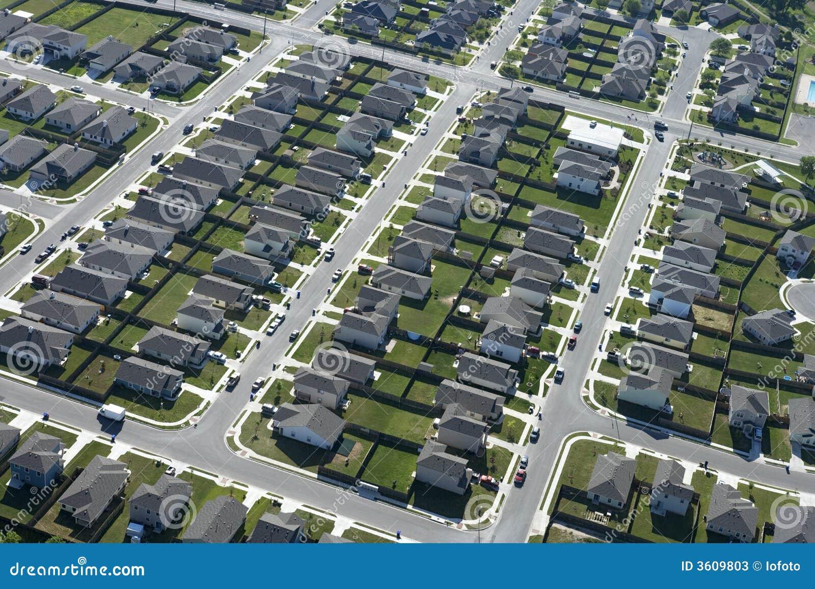 Texas Suburb Stock Photos Image 3609803