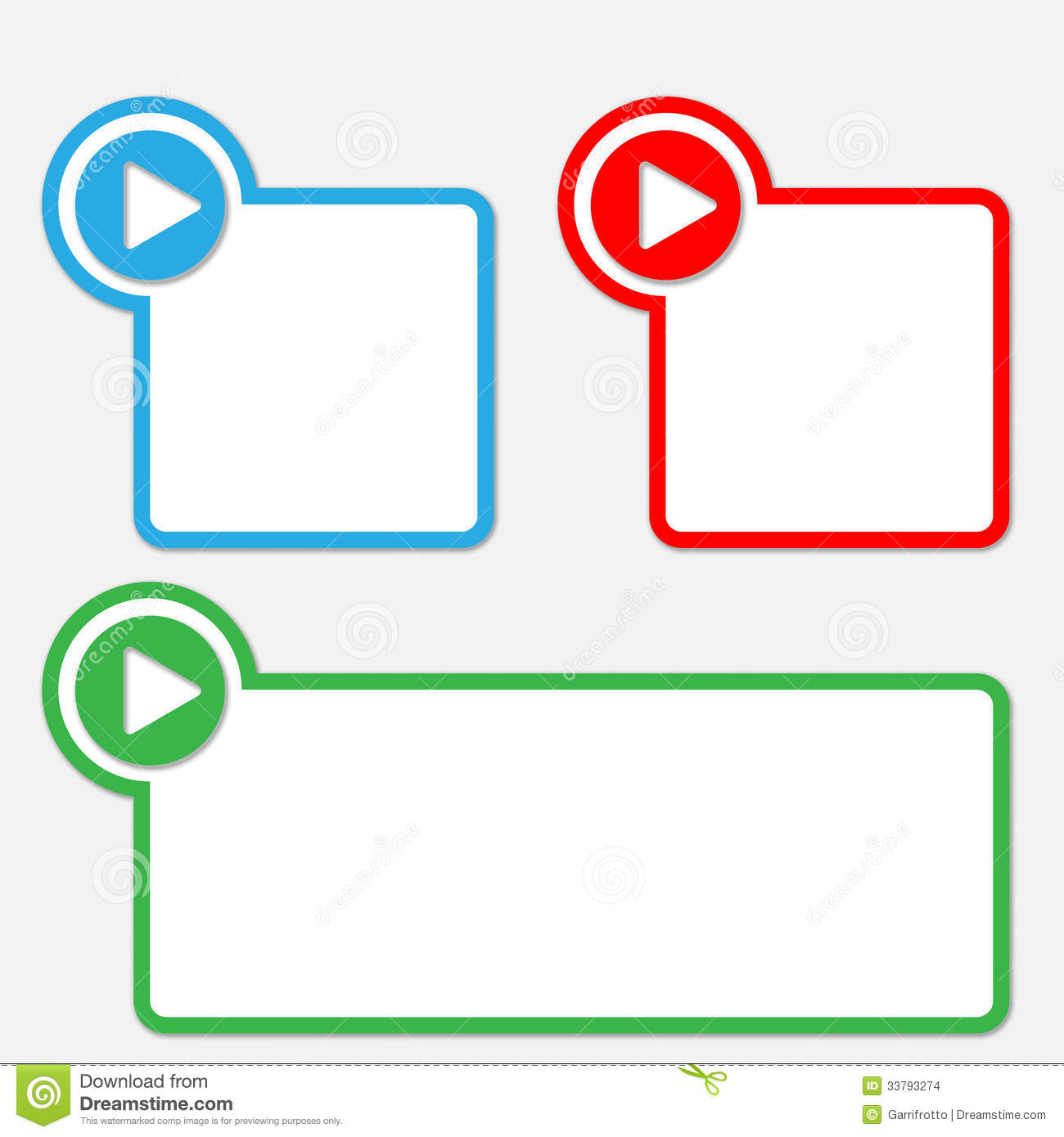 Text Box With Arrow Stock Vector. Illustration Of Note