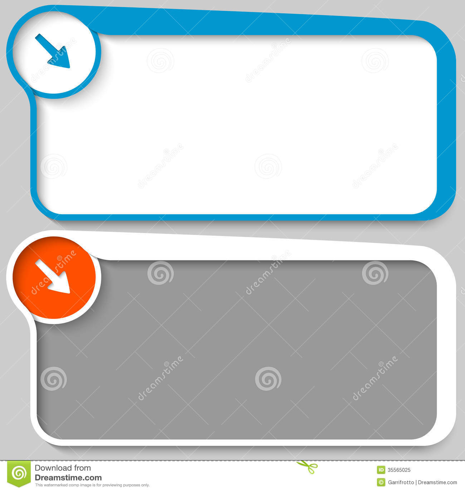 Text Box And Arrow Royalty Free Stock Photo - Image: 35565025