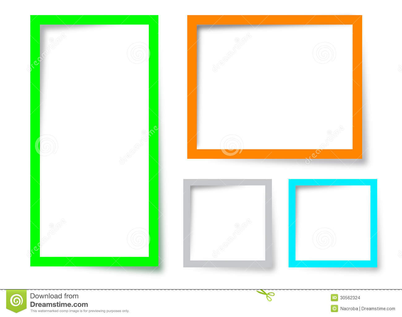 Text box design stock illustration. Image of label, frame ...