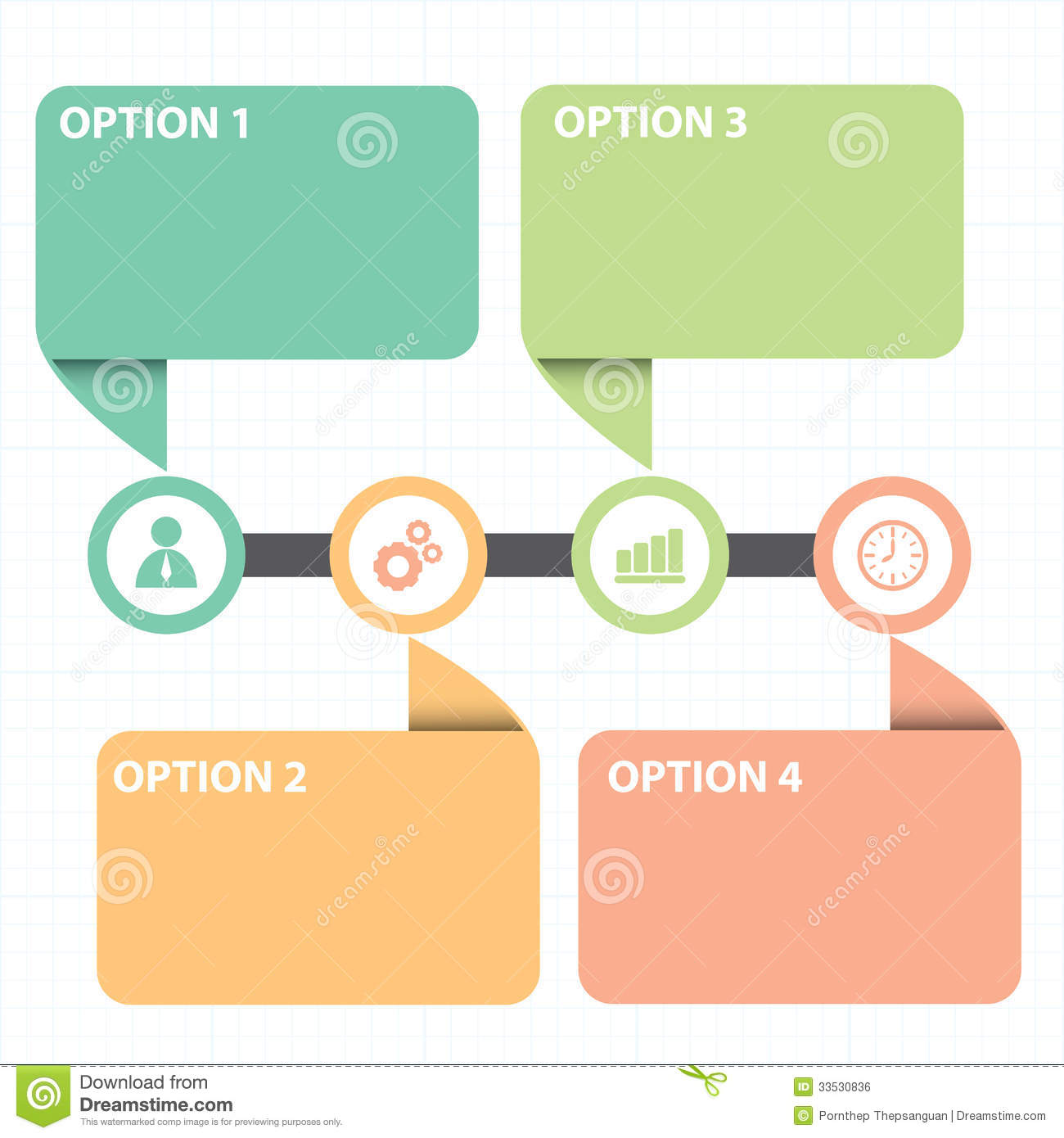 Text box with line business strategy diagram stock vector text box with line business strategy diagram ccuart Images