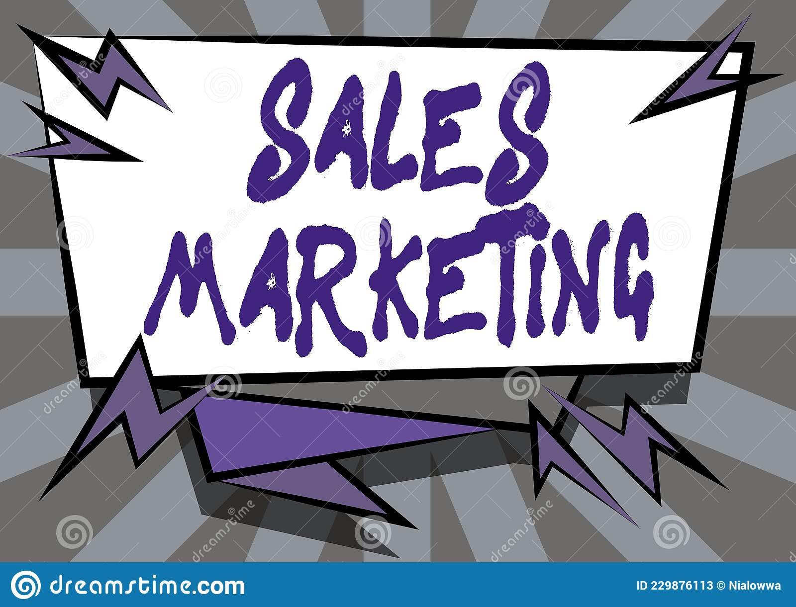 Text Showing Inspiration Sales Marketing. Concept Meaning ...