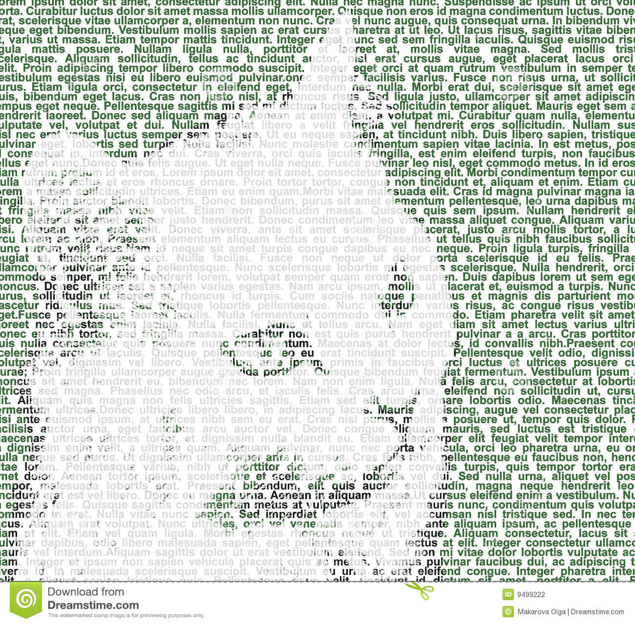 White cat's face drawn with grey, black and green text.