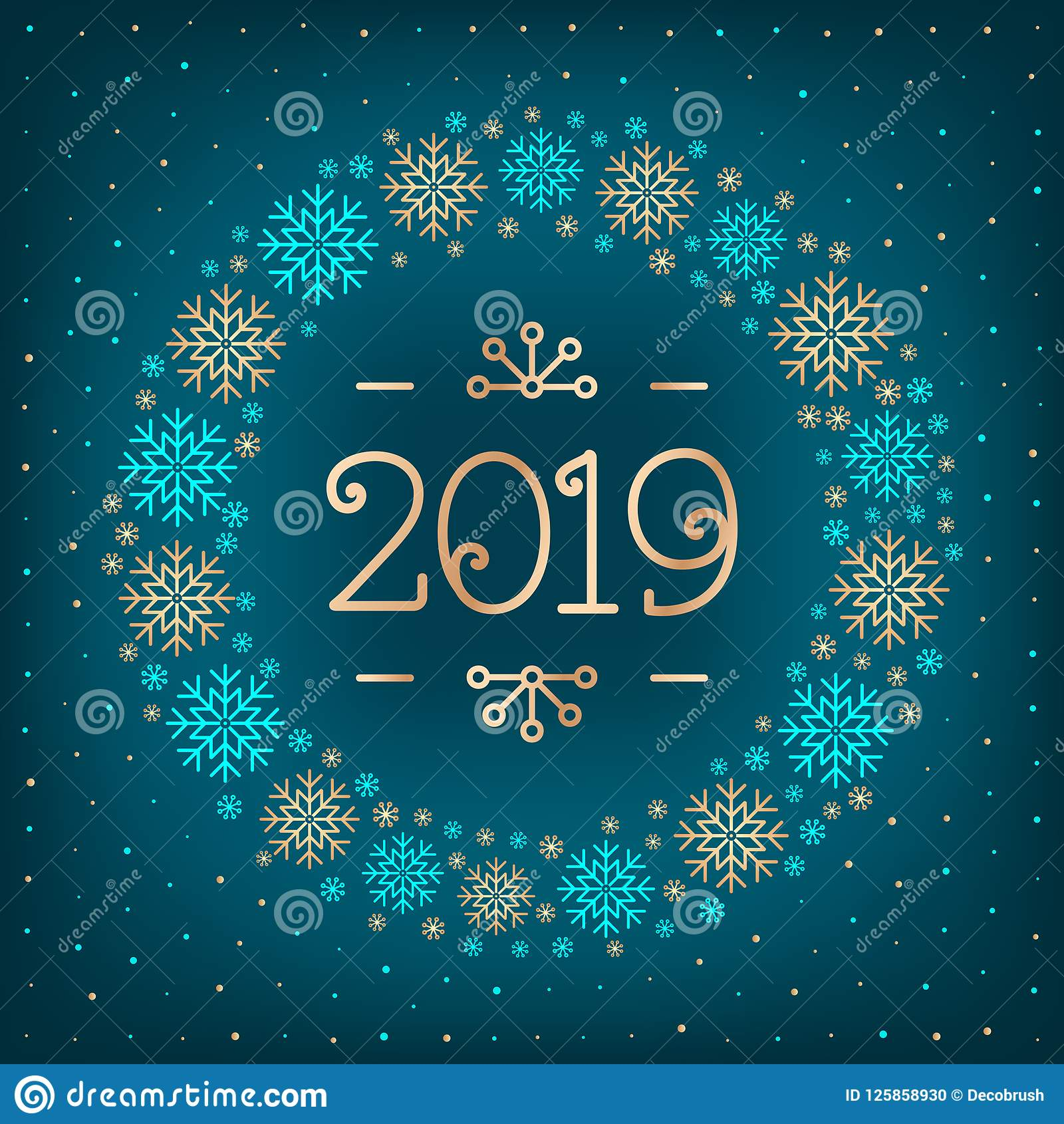 2019 Christmas Cards 2019 Text Christmas Card Happy New Year Holiday Greeting Card