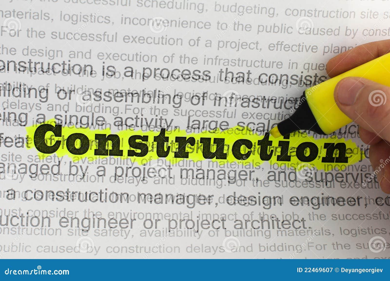 Text construction