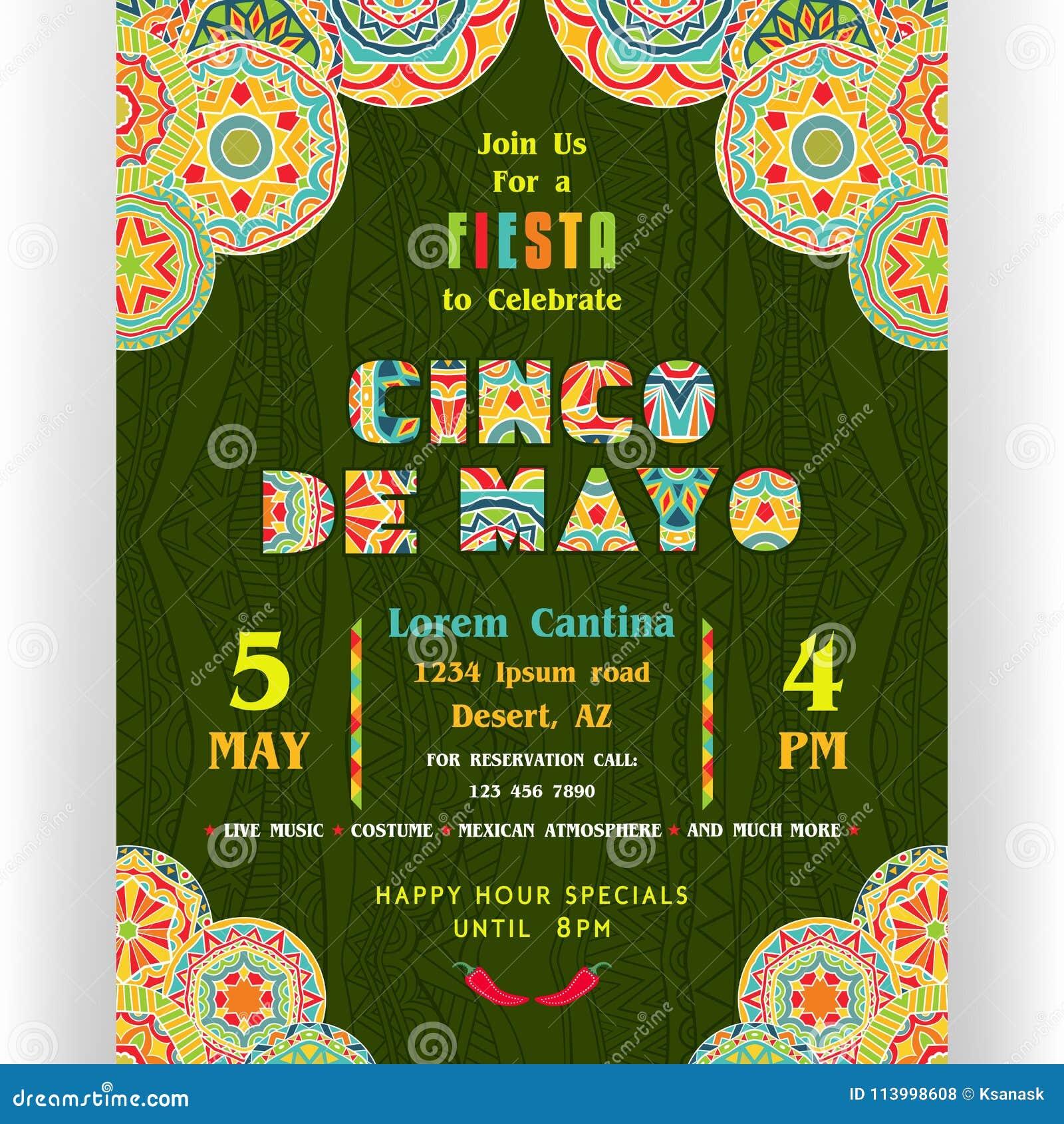 Fiesta Invitation Border Suyhi Margarethaydon Com
