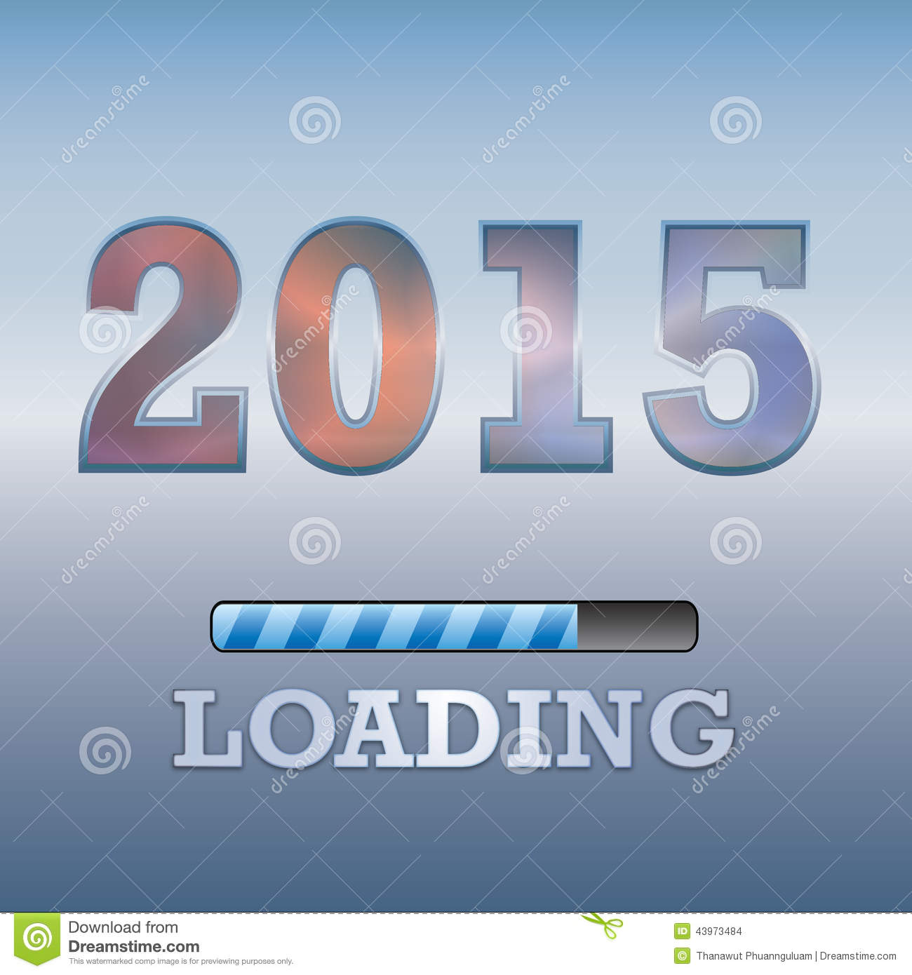 2015 text with loading symbol on blue background stock 2015 text with loading symbol on blue background biocorpaavc Image collections