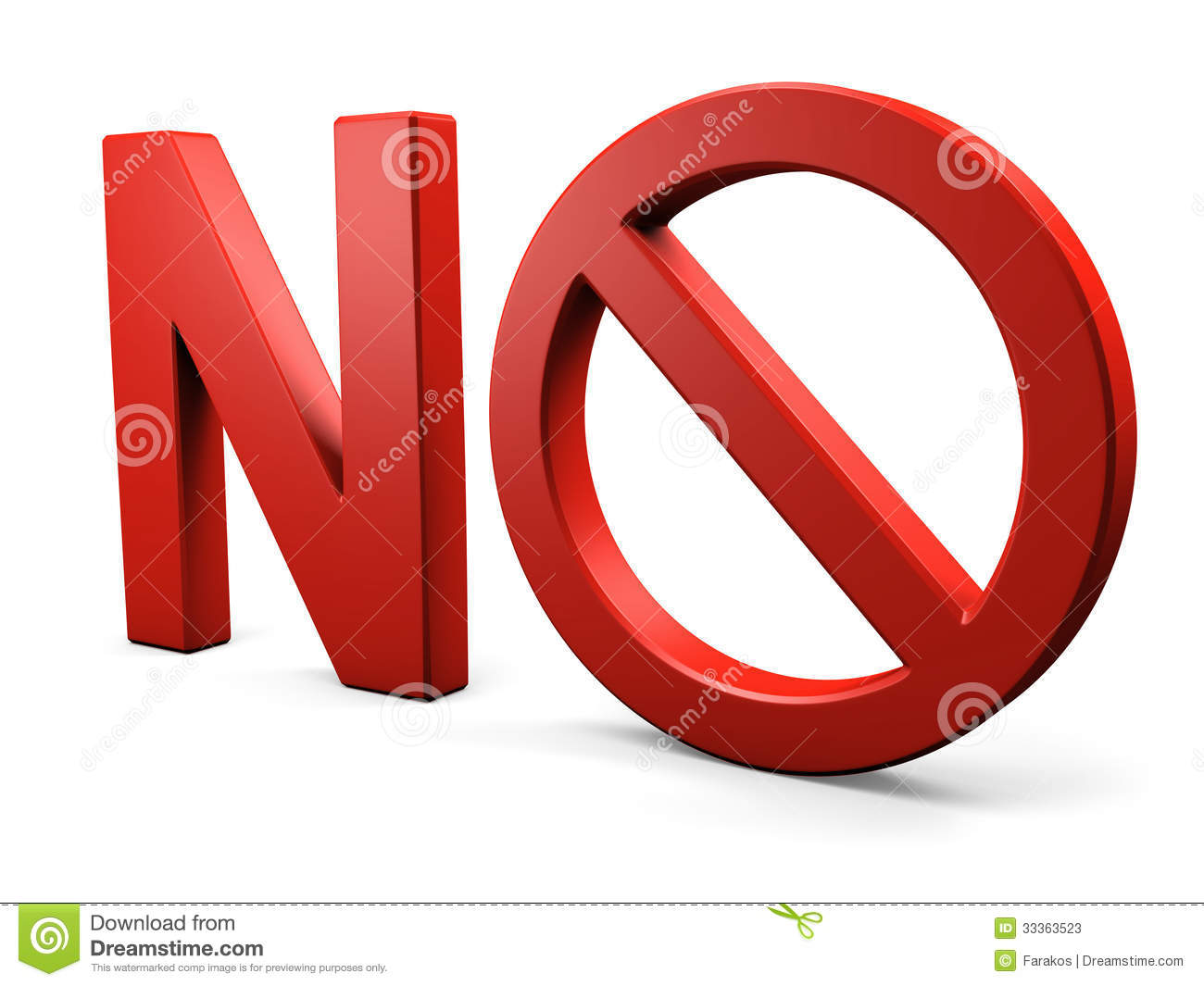 text no forbidden sign stock photos image 33363523