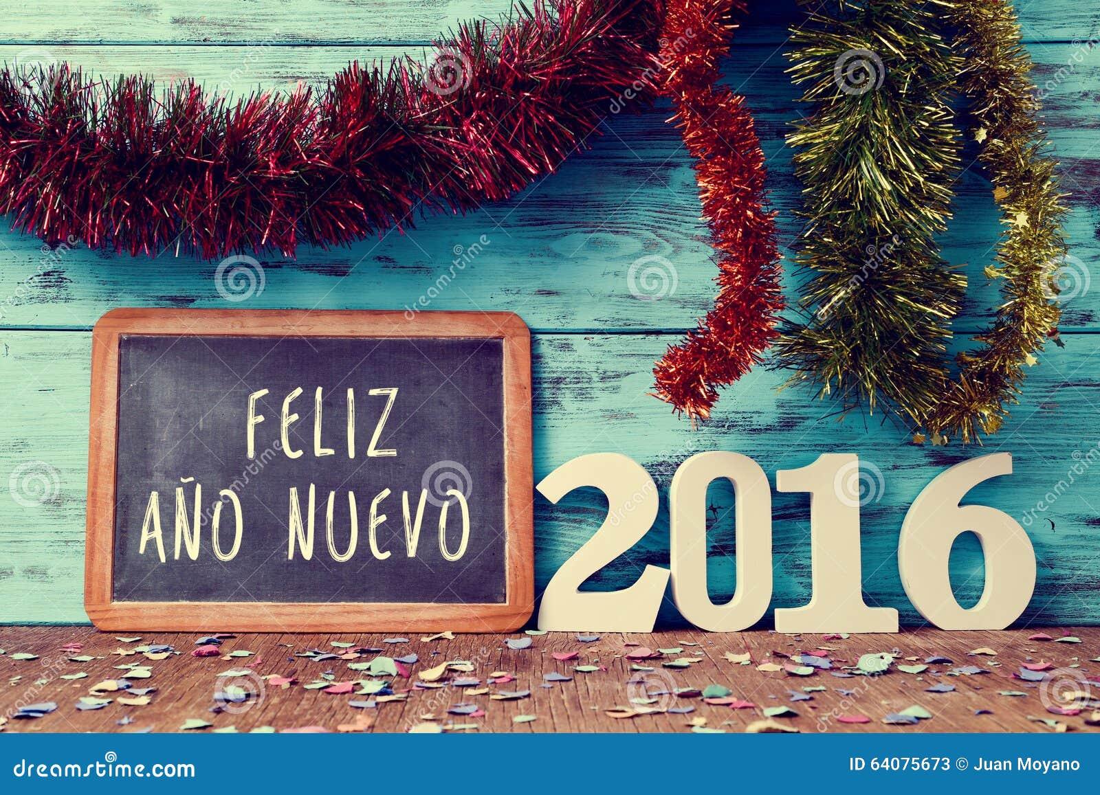 Text O Nuevo 2016 Do Ano Do Feliz, Ano Novo Feliz 2016 No