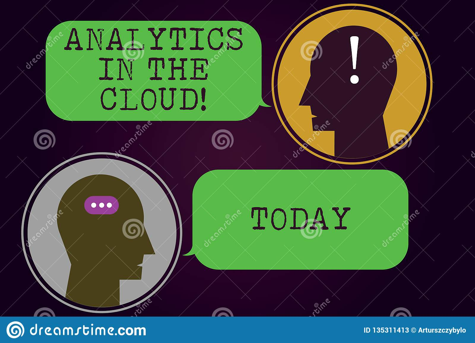 Text Sign Showing Analytics In The Cloud Conceptual Photo New Modern Online File Storage Systems Analysis Messenger Stock Illustration Illustration Of Analyze Computing 135311413