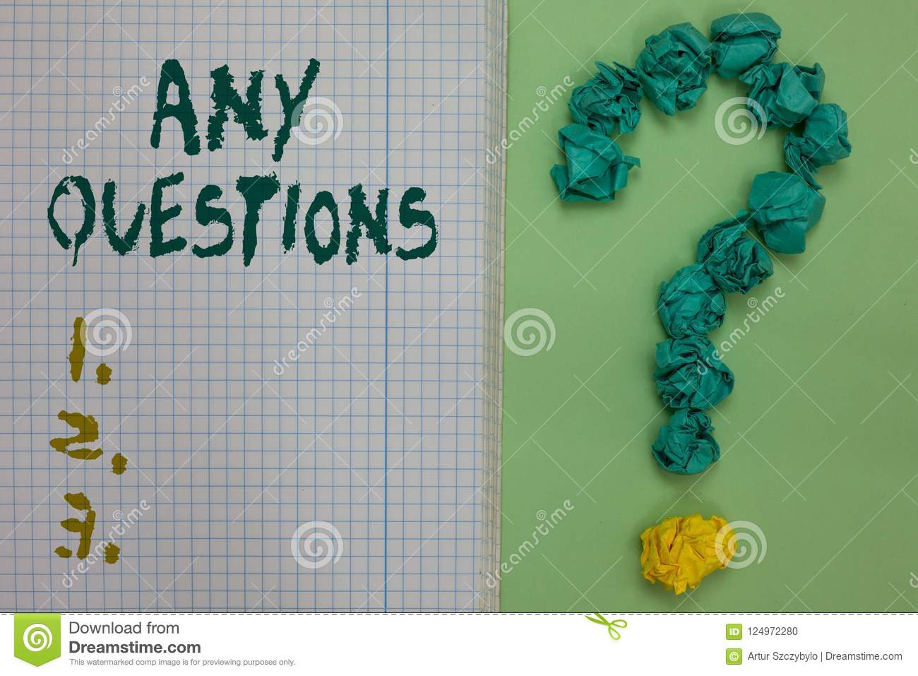 Text Sign Showing Any Questions  Conceptual Photo Clueless