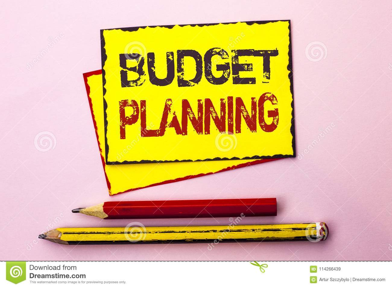 text sign showing budget planning conceptual photo financial