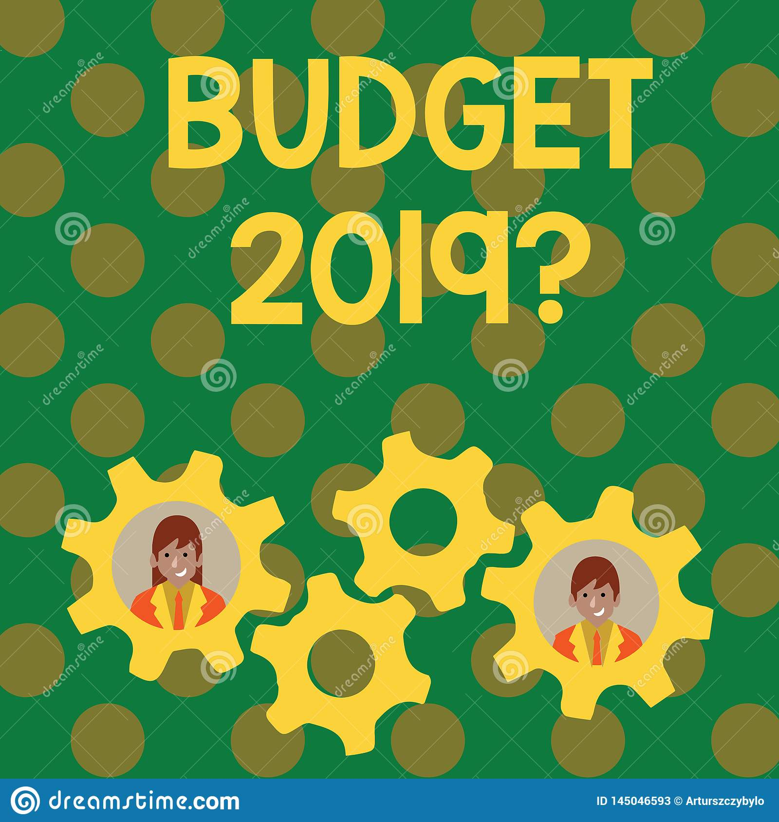 Text sign showing Budget 2019 Question. Conceptual photo estimate of income and expenditure for next year Two Business