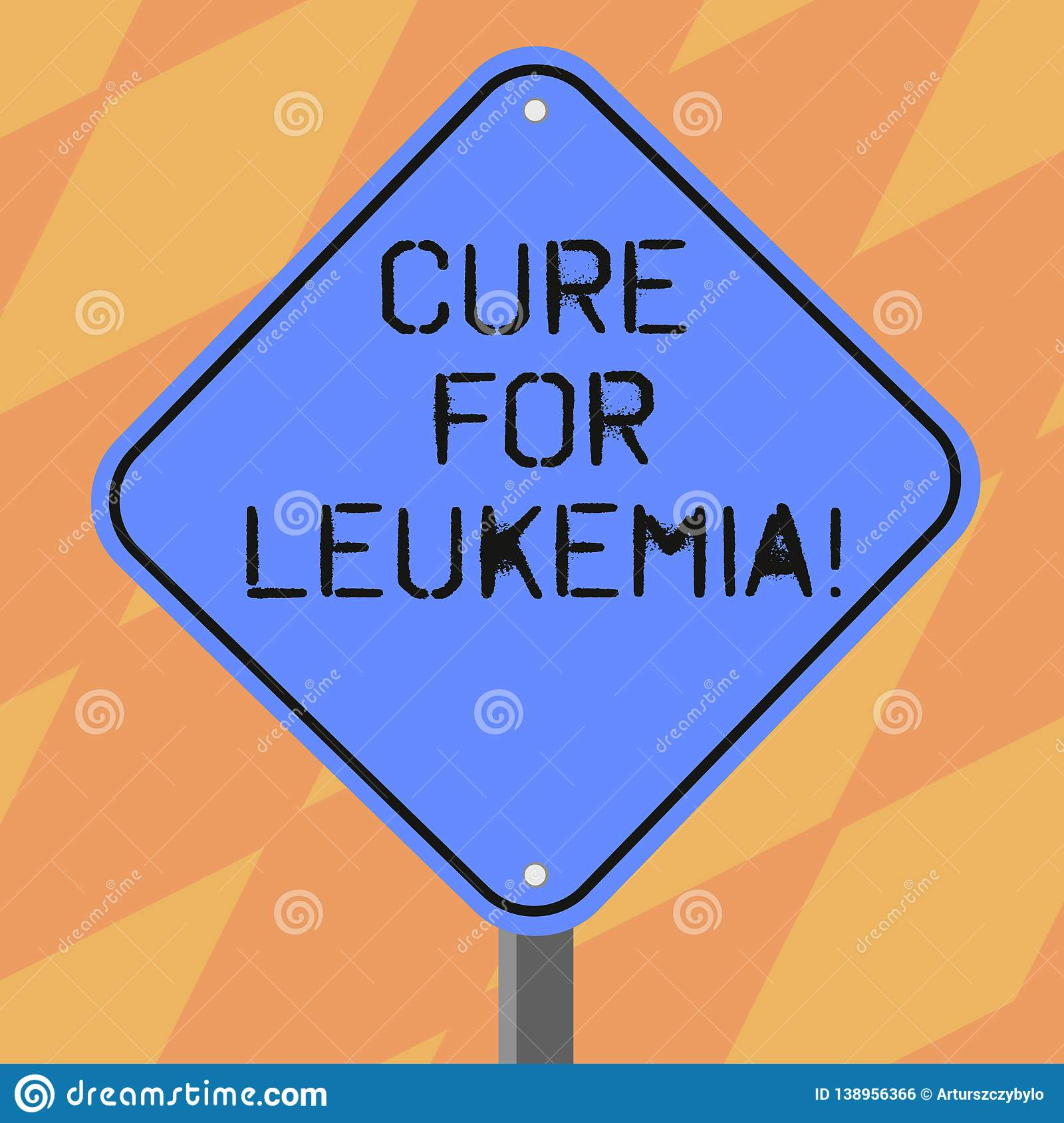 Text Sign Showing Cure For Leukemia  Conceptual Photo