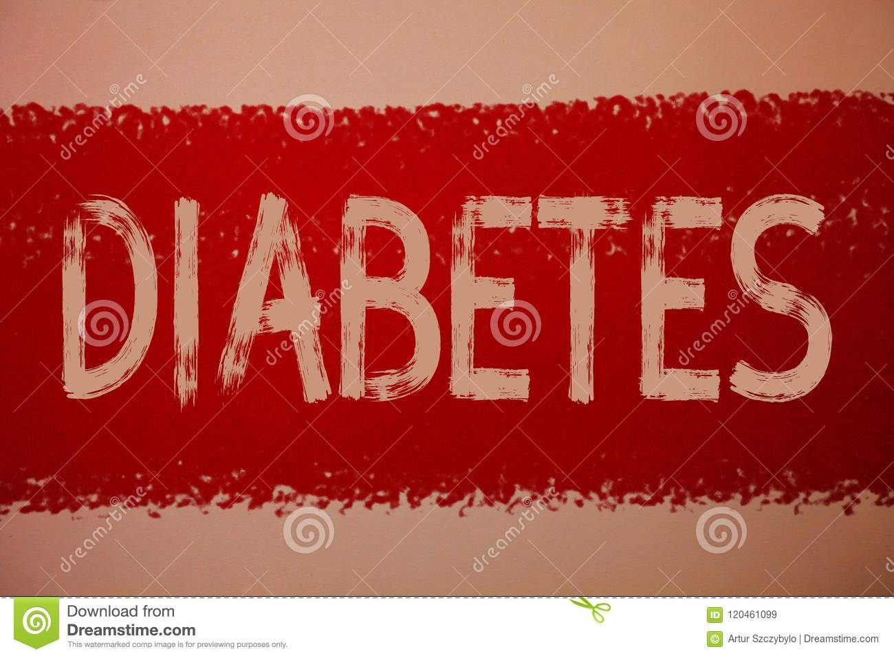Text sign showing Diabetes. Conceptual photo Chronic disease associated to high levels of sugar glucose in blood Ideas messages re