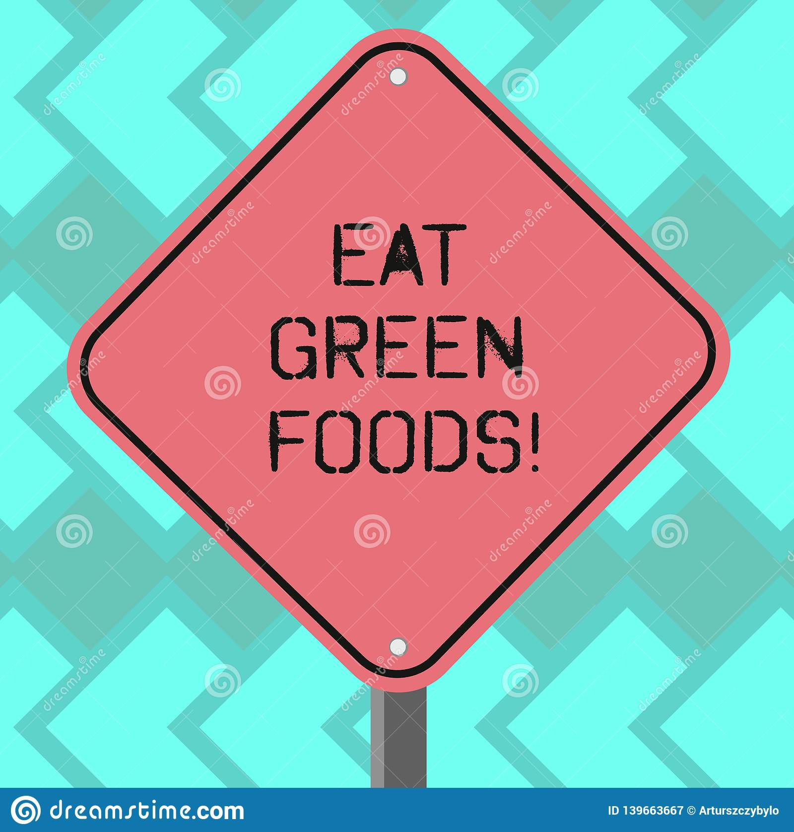 Text sign showing Eat Green Foods. Conceptual photo Eating more vegetables healthy diet vegetarian veggie demonstrating