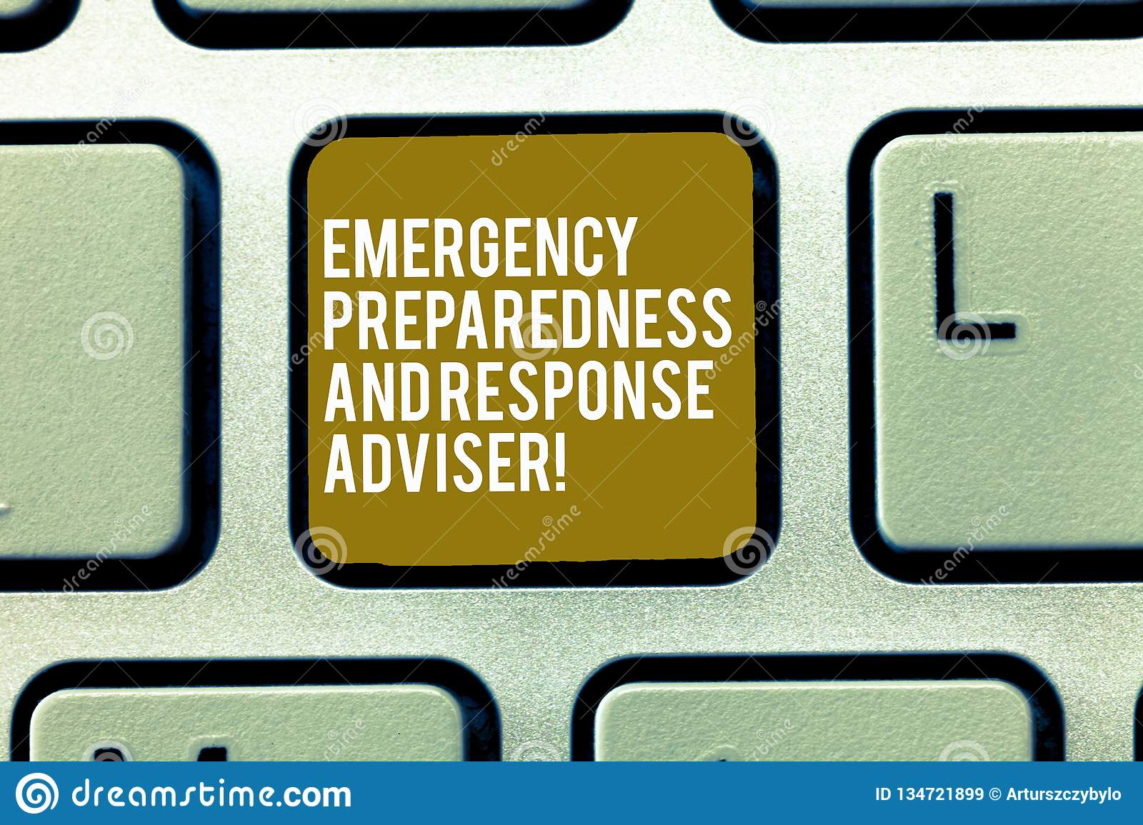 Text Sign Showing Emergency Preparedness And Response