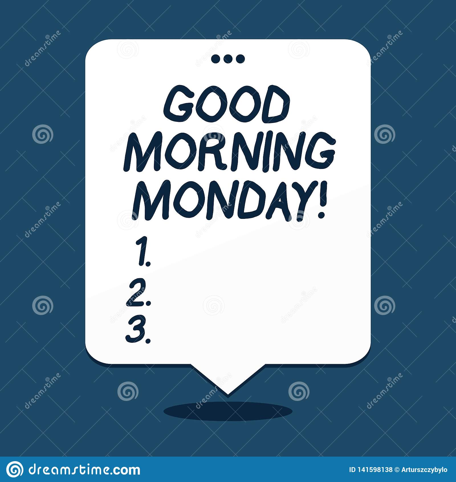 Text sign showing Good Morning Monday. Conceptual photo Happy Positivity Energetic Breakfast.