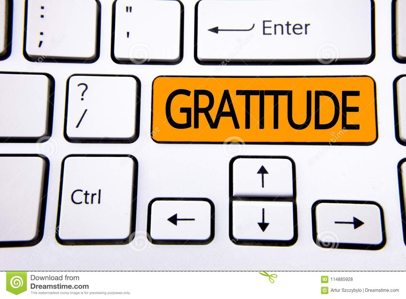 Text Sign Showing Gratitude  Conceptual Photo Quality Of