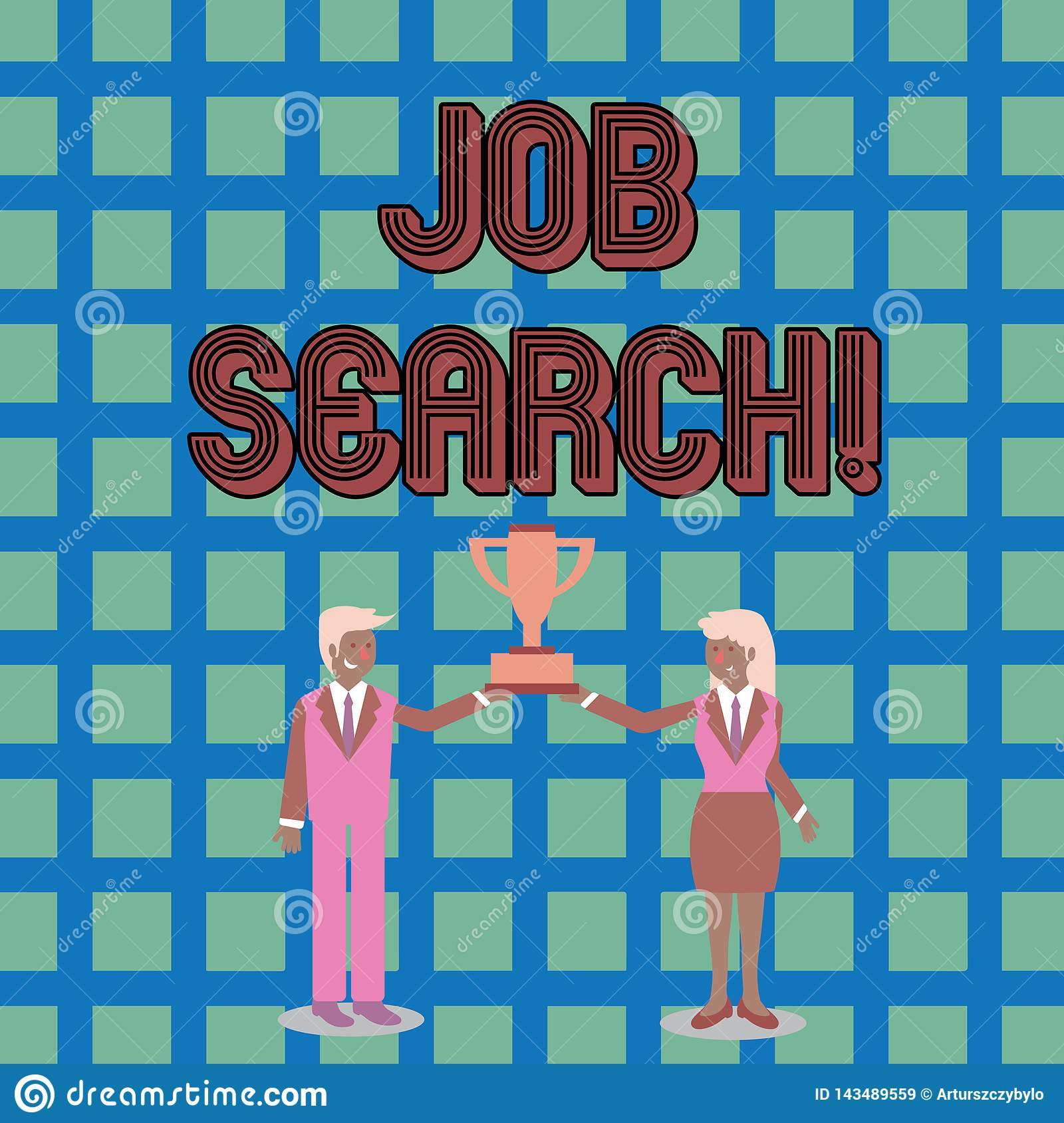 Text sign showing Job Search. Conceptual photo act of looking for employment due to unemployment underemployment Man and