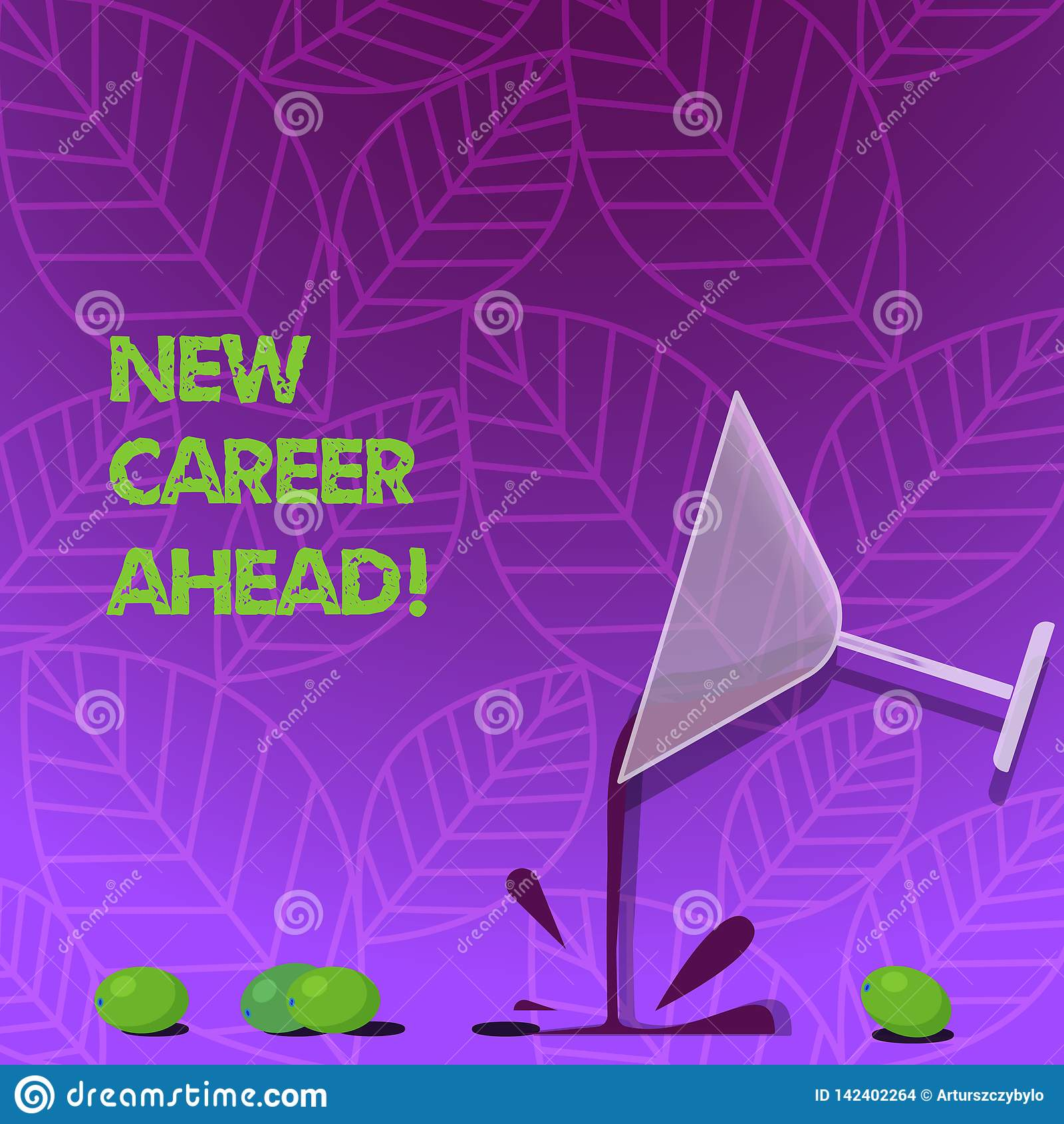 Text Sign Showing New Career Ahead Conceptual Photo Advance By
