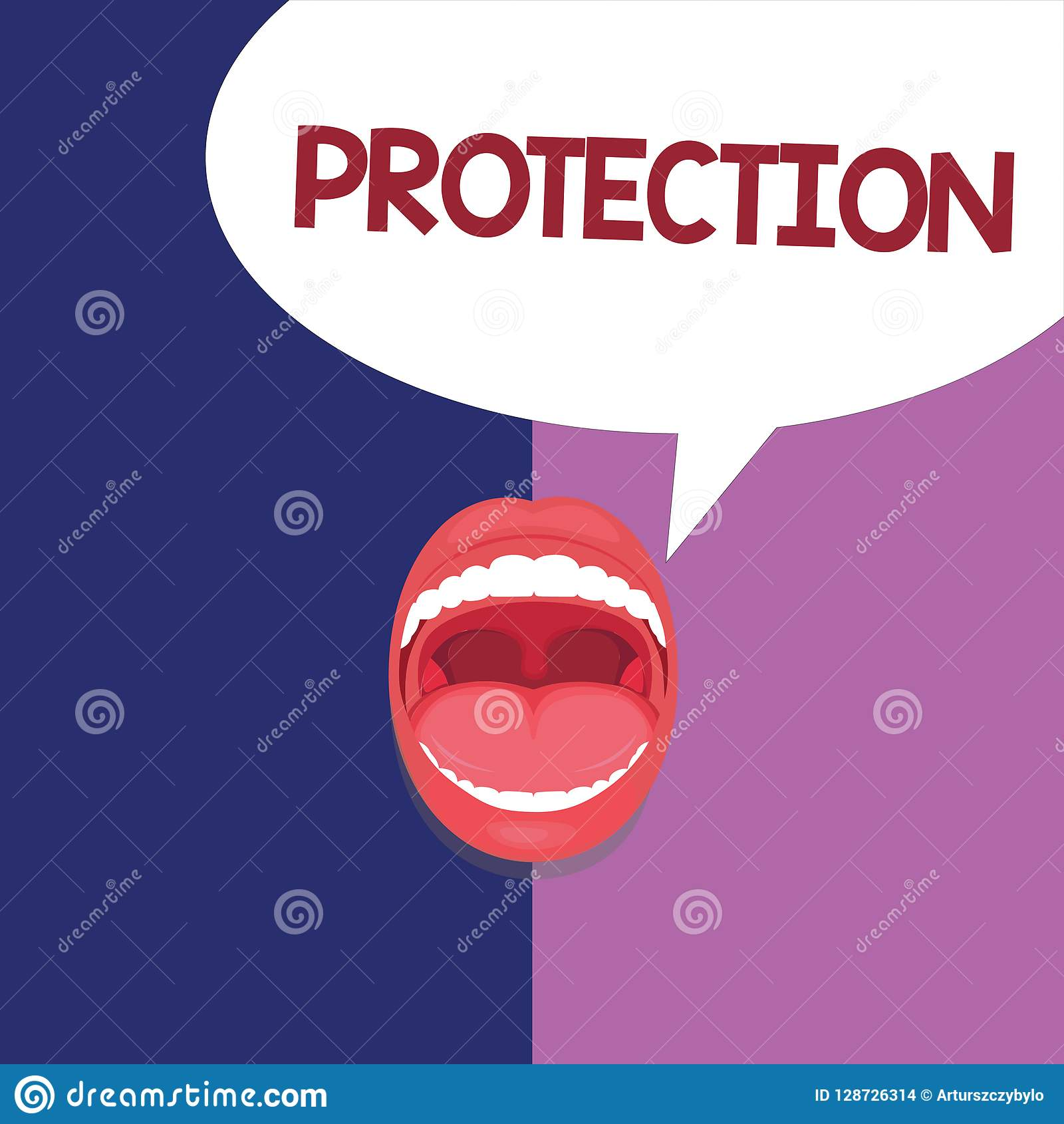Text Sign Showing Protection  Conceptual Photo State Of Being