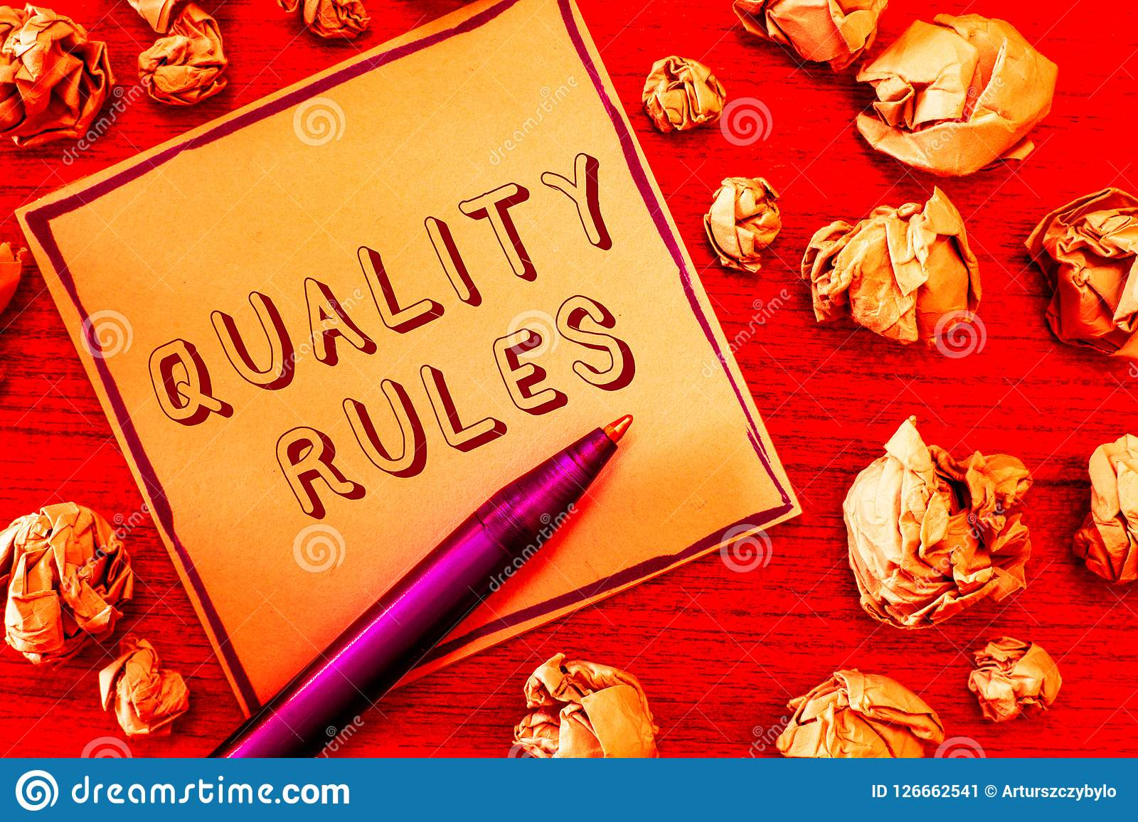 Text sign showing Regulations Rules. Conceptual photo Standard Statement Procedure govern to control a conduct.  Stock Image