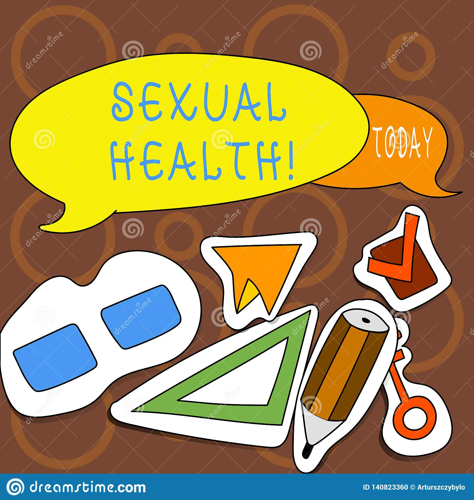 Text sign showing Sexual Health. Conceptual photo STD prevention Use Protection Healthy Habits Sex Care.