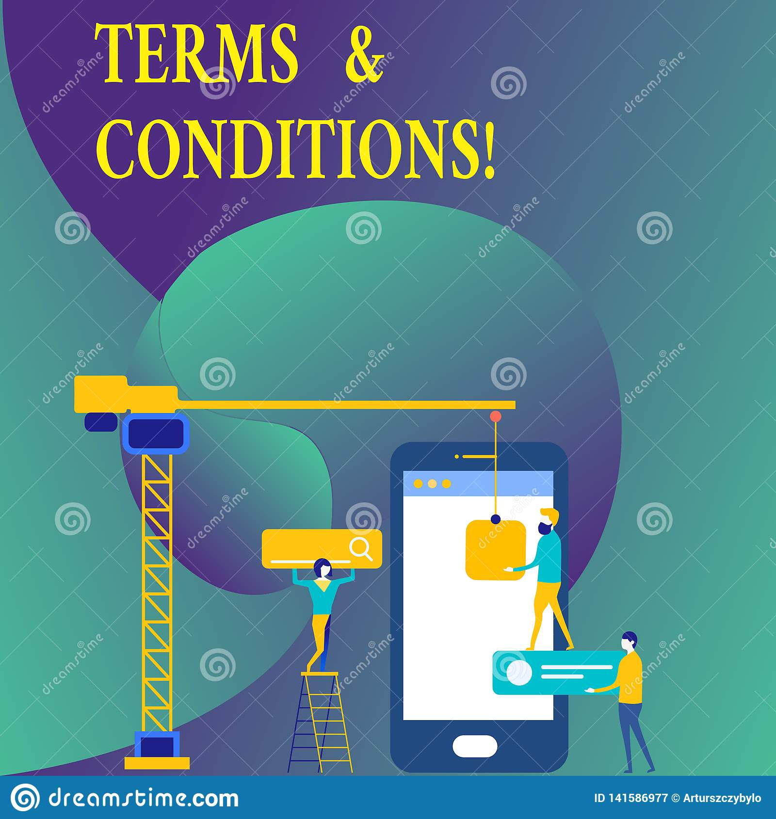 Text Sign Showing Terms And Conditions. Conceptual Photo