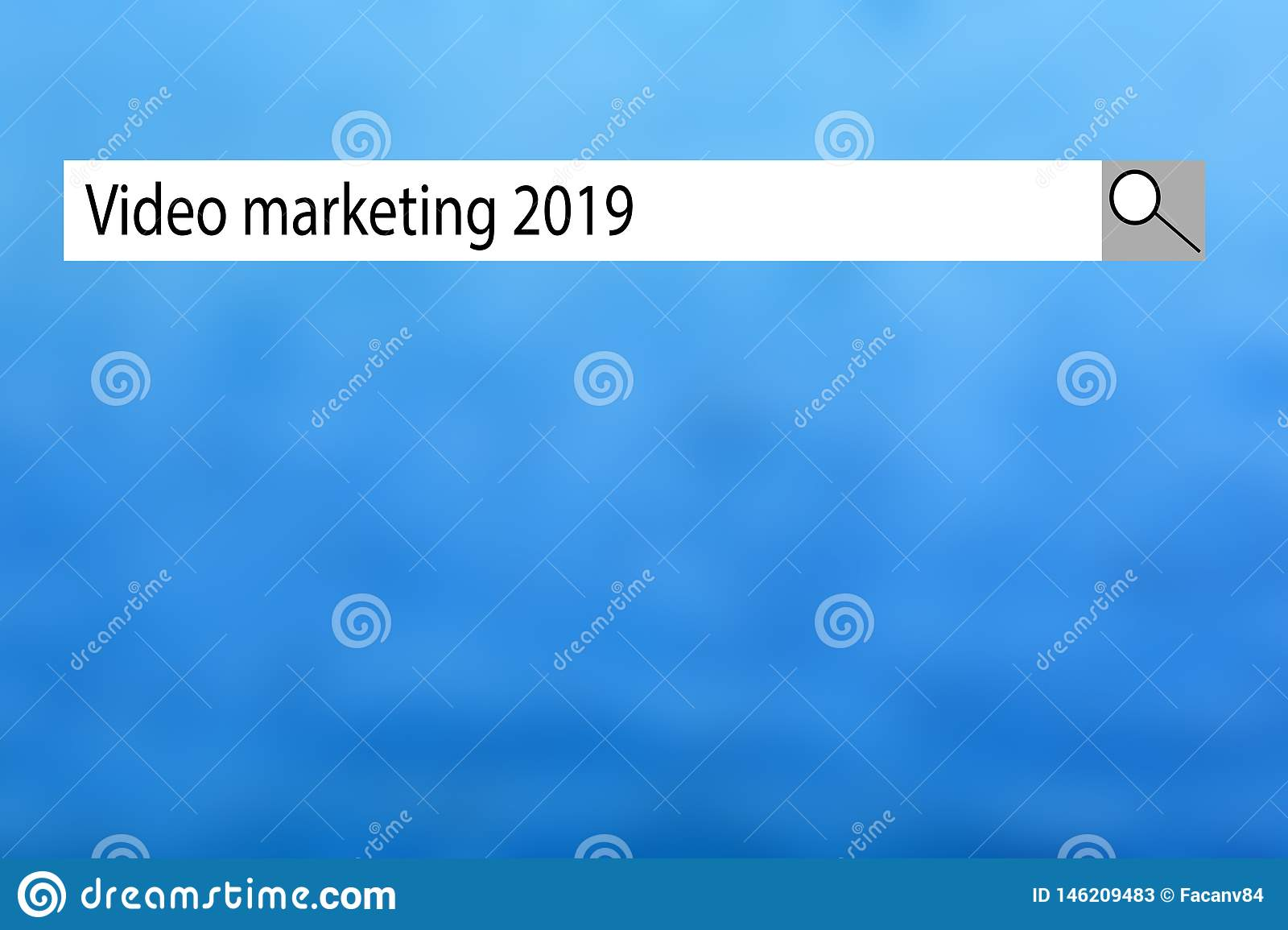 Text sign showing `Video marketing 2019`. Conceptual photo list of things that got popular very quickly in this year.