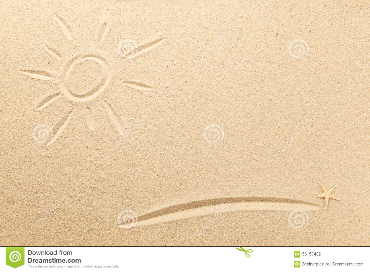 Text And Symbols In The Sand Stock Photo Image Of Symbol Sign