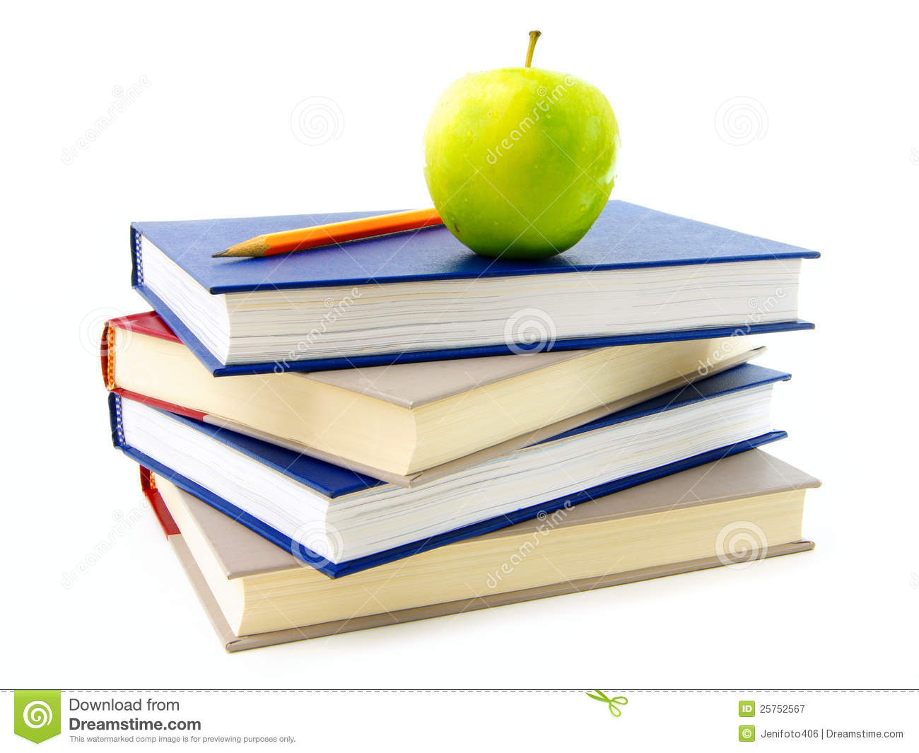 textbooks stacked royalty free stock photography image