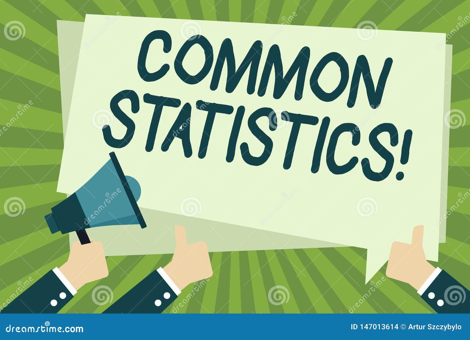 Texte d ?criture ?crivant des statistiques communes Signification de concept employ?e pour calculer des valeurs li?es aux concept