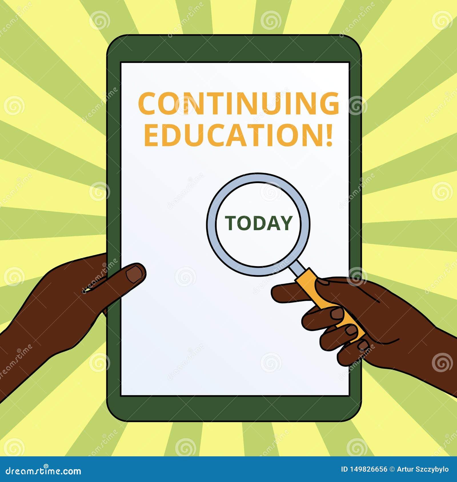 Texte d ?criture ?crivant la formation continue Les professionnels continués par signification d étude de concept s engagent dans