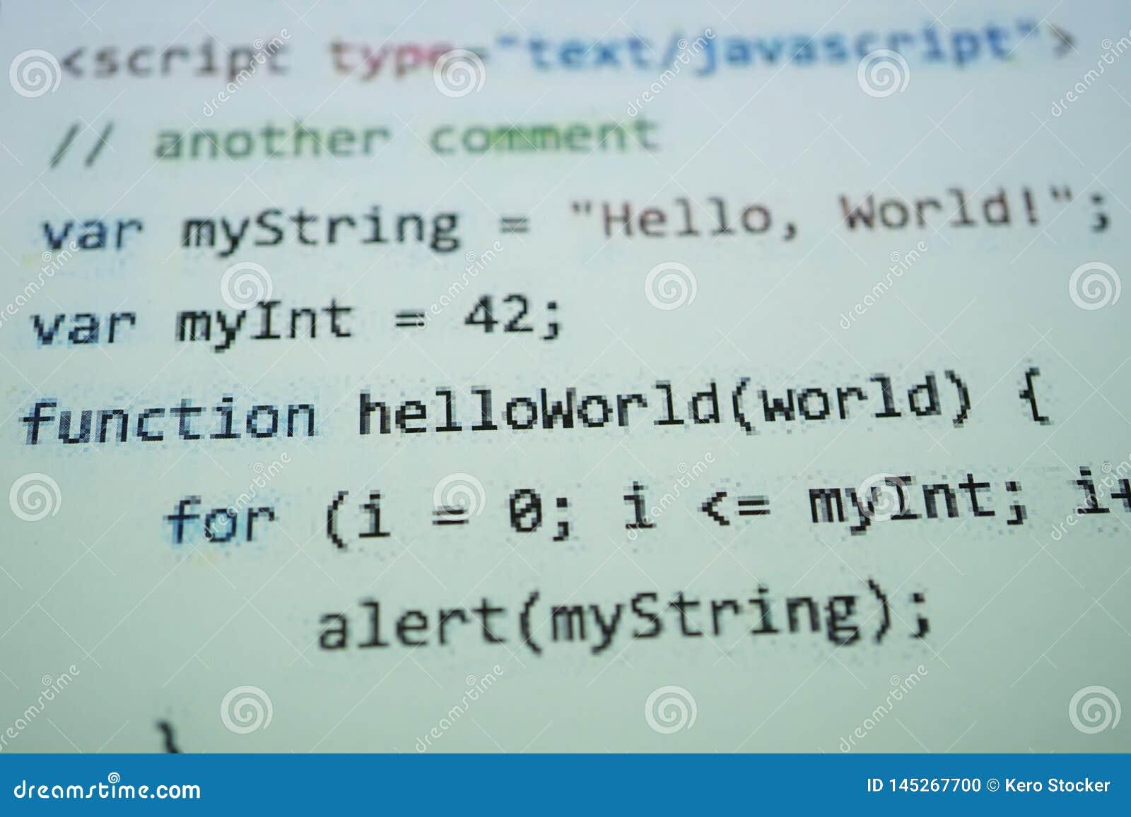 Texte de code de Digital Java L ordinateur int?grent le concept dans le logiciel