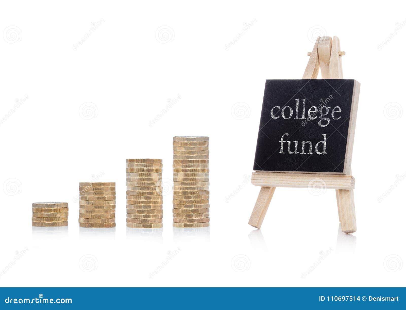 Texte de concept de plan de fonds d université sur le tableau