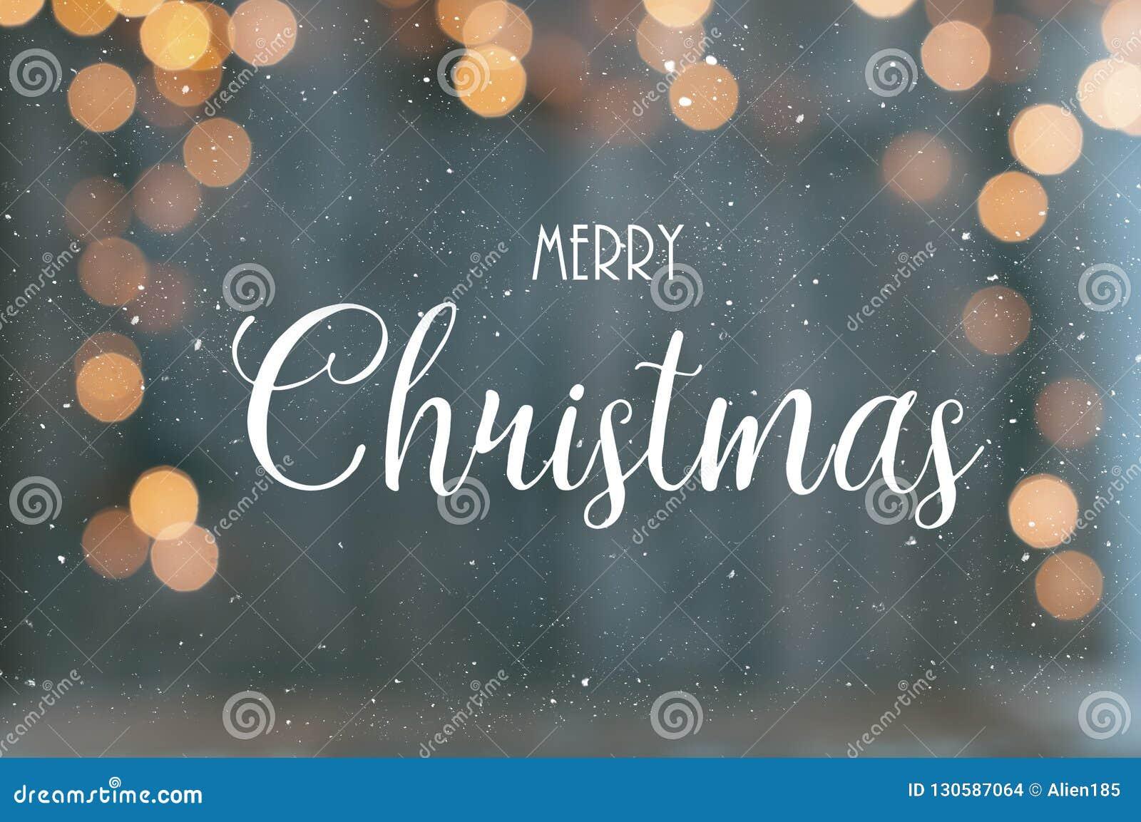 Texte de Joyeux Noël