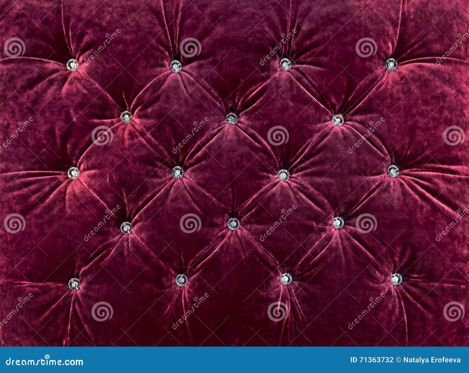 Textile Background With Rhinestone Stock Photography