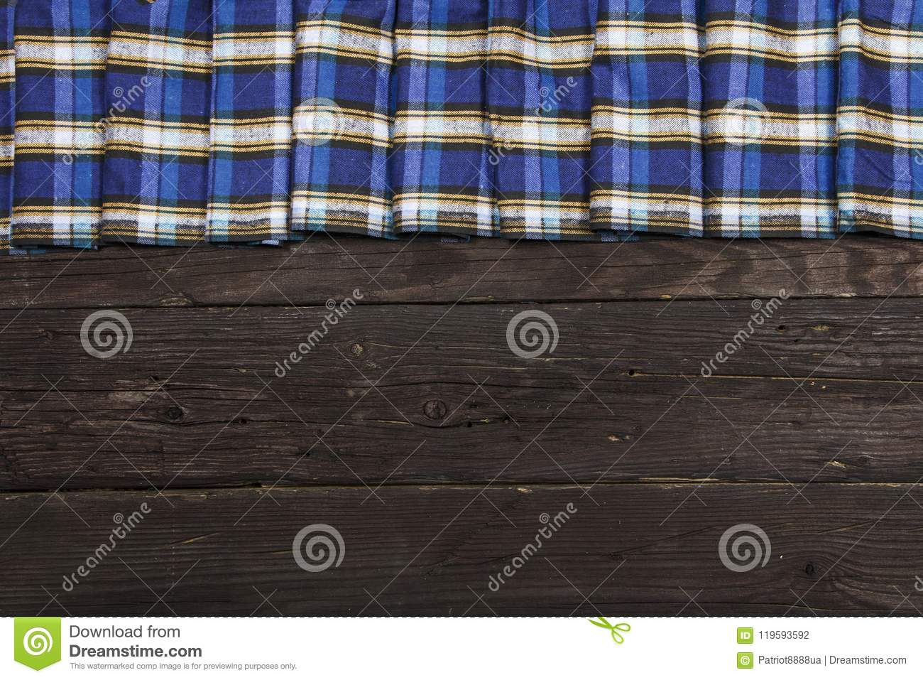 Textile In A Cage And Wood Texture Black Wooden Table Cloth