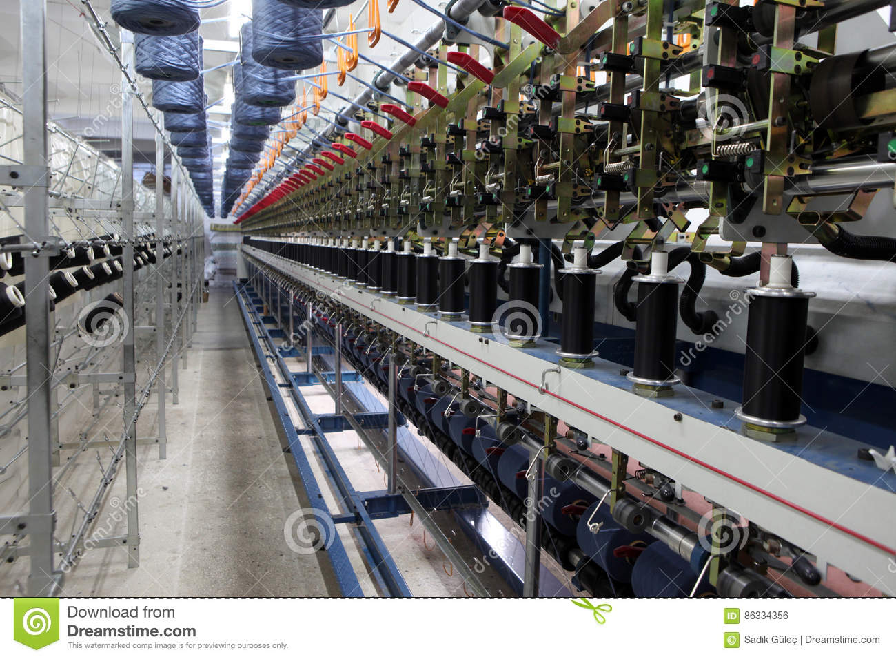 Textile Fabric İn Turkey  stock photo  Image of industry - 86334356