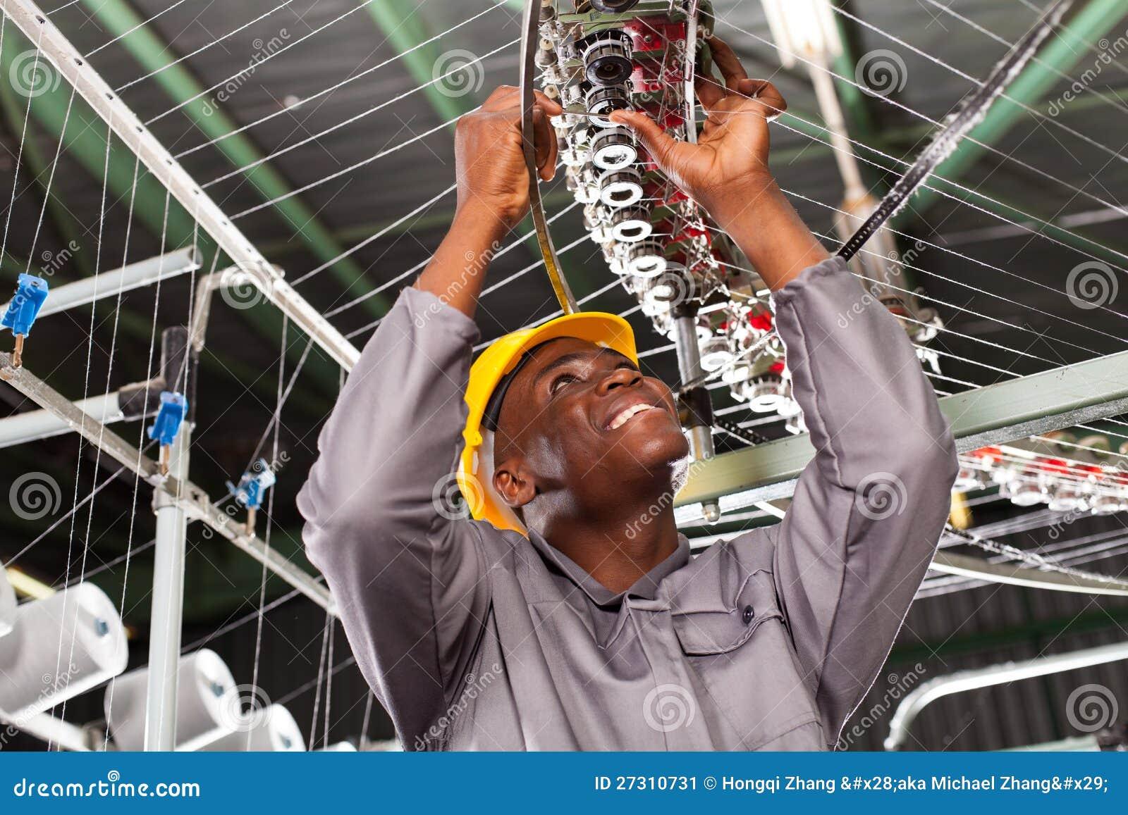 Textile Industrial Mechanic Stock Image - Image: 27310731