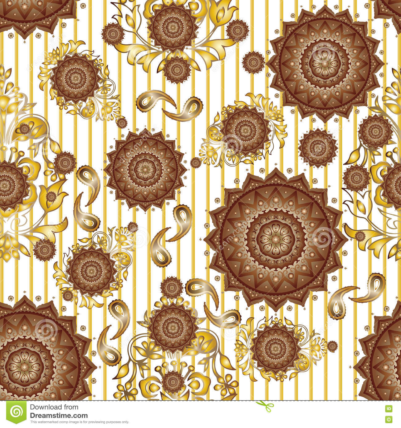 Textile Seamless pattern design for woman wears