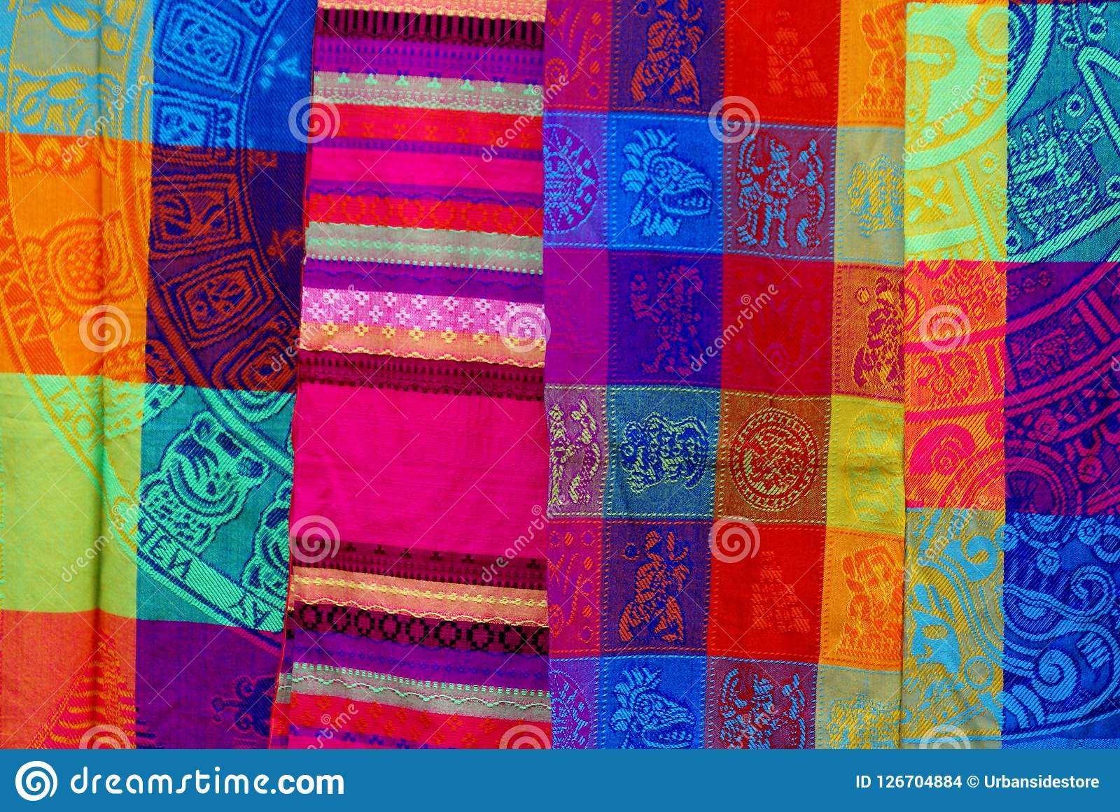 Textile traditionnel mexicain