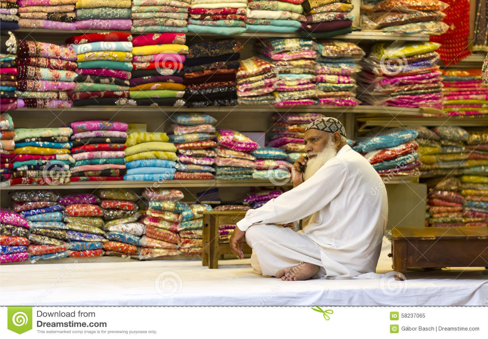 Textile vendor at the bazaar editorial image image 58237065 for Bano bazar anarkali lahore