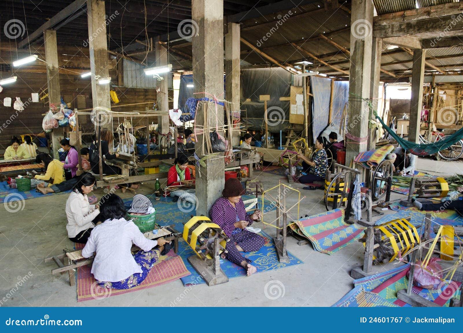 cambodia textile industry