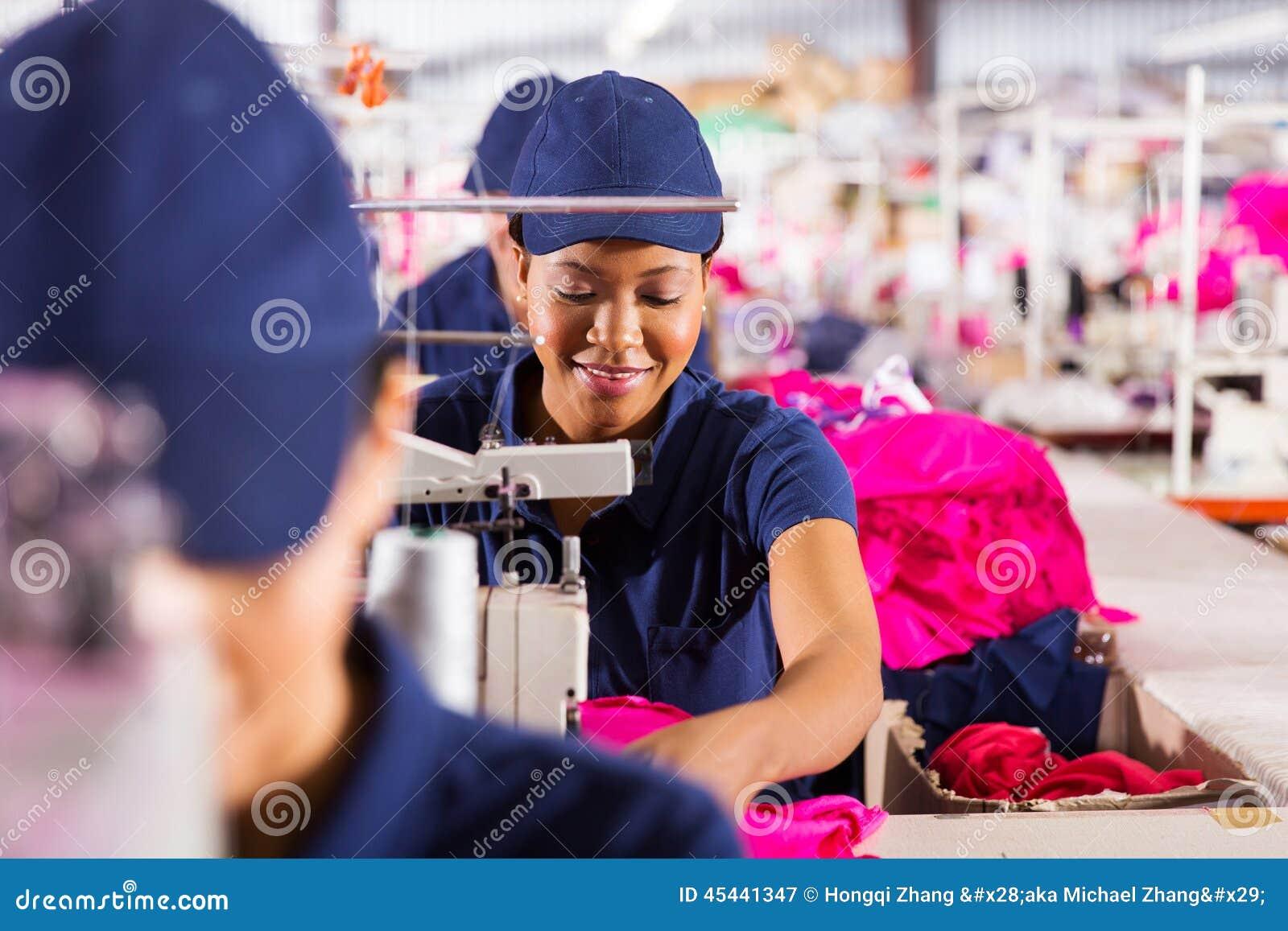 Textilfabriksarbetare
